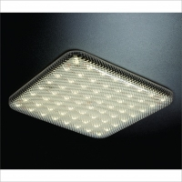 PLAFON SOBREPOR LED PRISMÁTICO - ULTRA SLIM LED